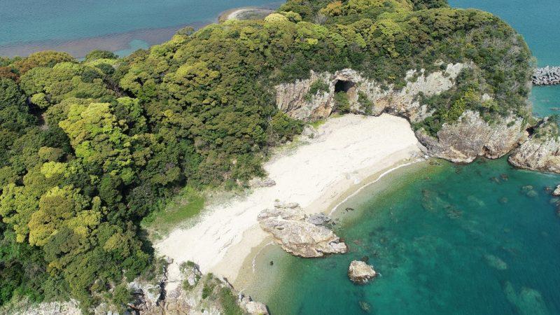 乙島 乙島のシークレットビーチ