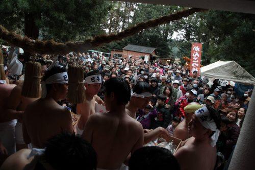 中山神社大祭 はだか参り