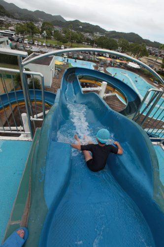 門川海浜公園プール 門川海浜公園プールのウオータースライダー