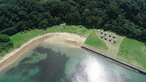 乙島 キャンプ場